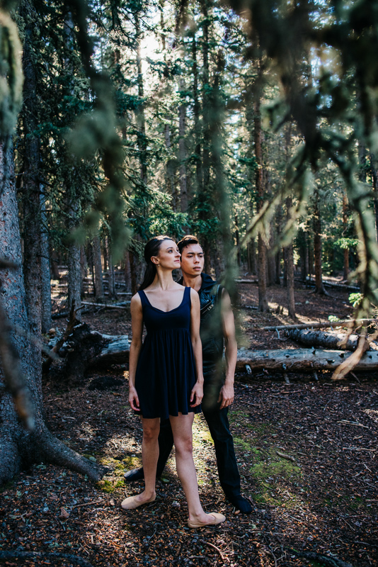 Pas De Deux | Couple  Ballet Dance | Kevin & Sara {Mountain Denver, Colorado Ballet and Dance Photographer | Echo Lake Mount Evans Colorado}