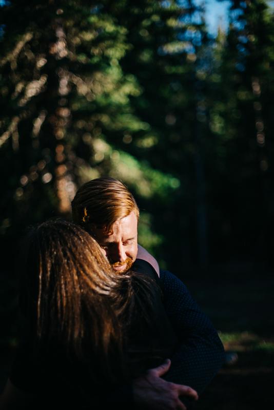 Echo Lake Engagement Photos | April & TJ { Mountain Denver Colorado Engagement Photographer}