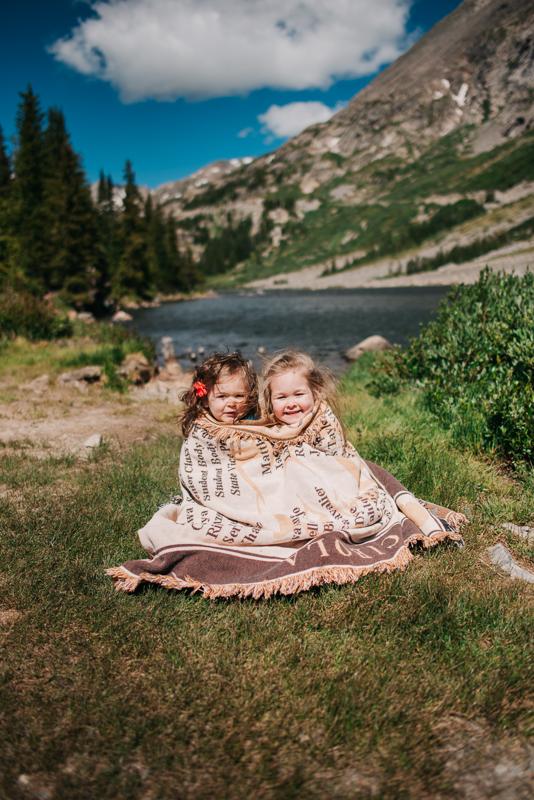 Breckenridge Mountain Colorado Family Photos {Brie & Tyler Family Photography Session | Blue Lakes Colorado}