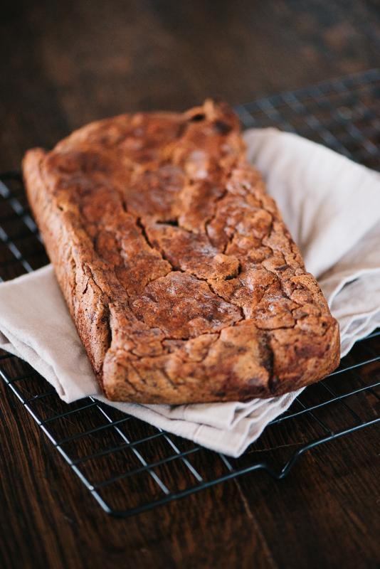 Banana Bread Grain Free Recipe {Grain Free, Nut Free, Paleo, Vegan, Plant Based Diet | Denver, Colorado Photographer}