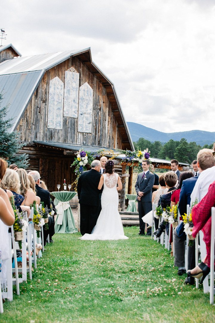 The Barn at Evergreen Memorial Park Wedding Photography | {Colorado Mountain Wedding Photographers by Brittany} | Evergreen CO Wedding Photographers