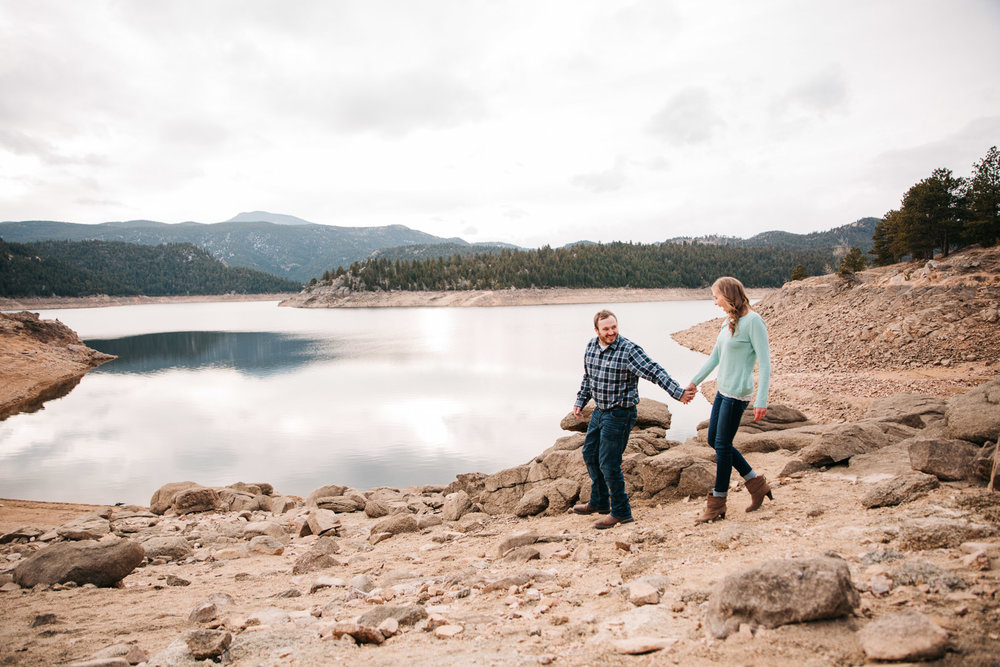 Mountain Couple Anniversary Photography By Brittany