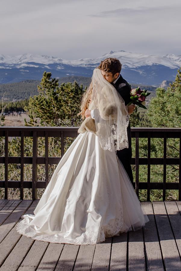 Panorama Point Colorado State Park Mountain Elopement { Lauren & Trevor Intimate Mountain Colorado Wedding Photographer}