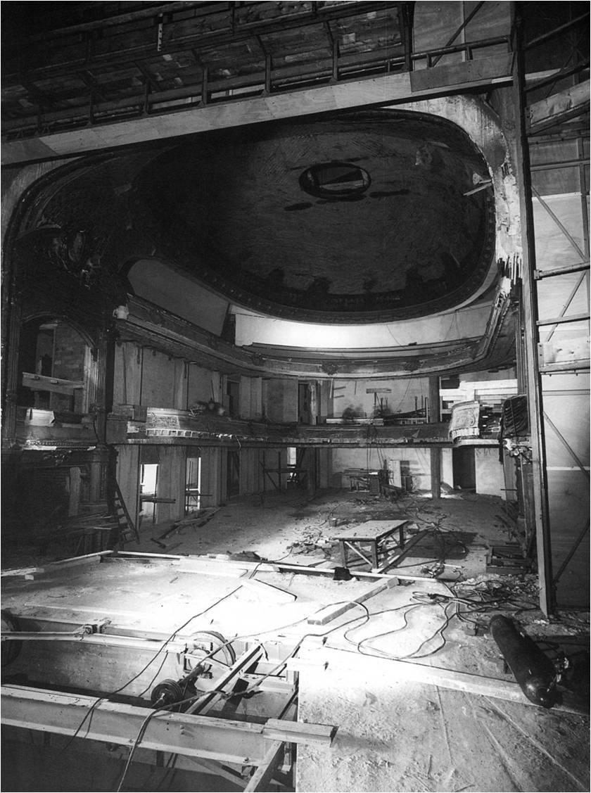 Restauratie in 1953