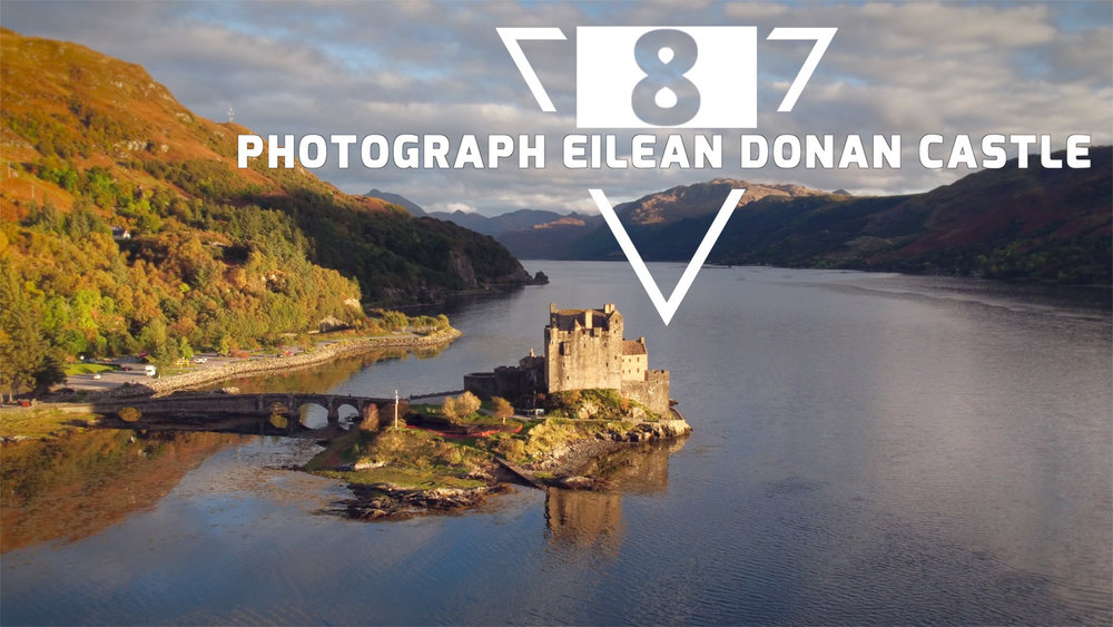 One of the most recognisable castles in Scotland, the iconic Eilean Donan Castle.
