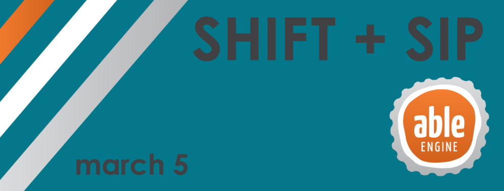 Shift + Sip Banner