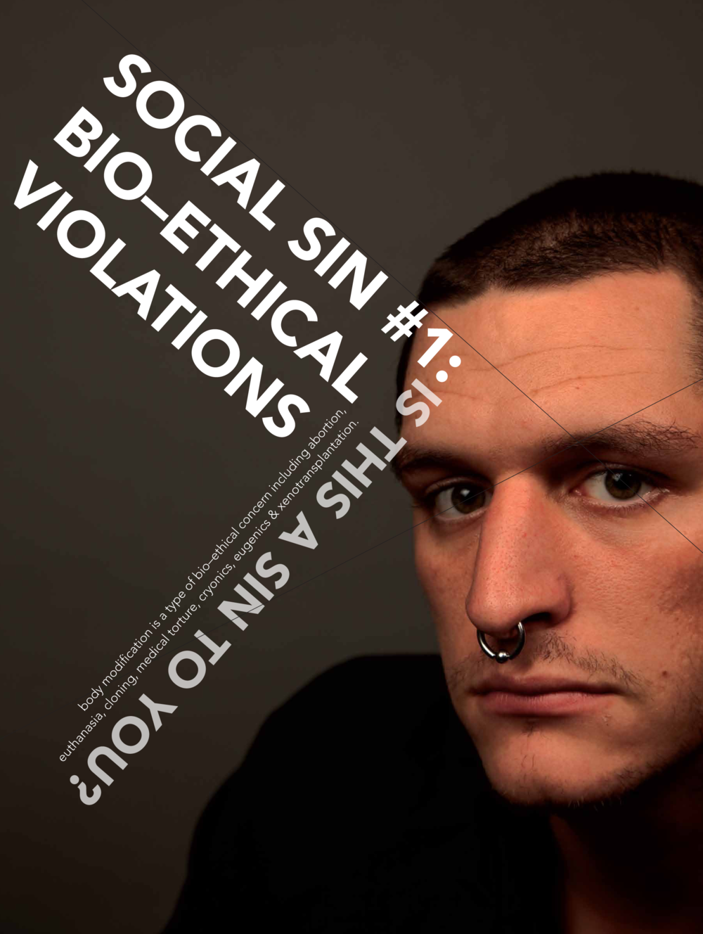Social Sin #1 Bio-Ethical Violations
