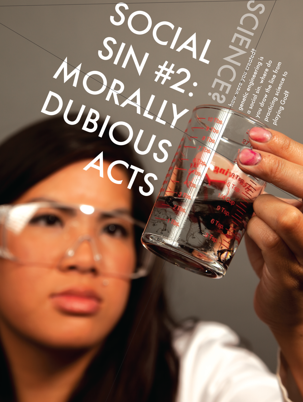 Social Sin #2 Morally Dubious Acts