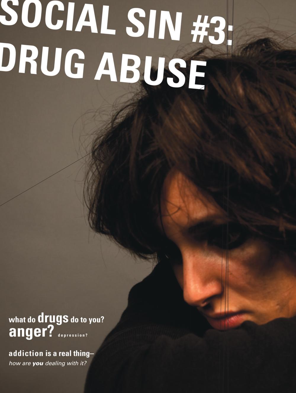 Social Sin #3 Drug Abuse
