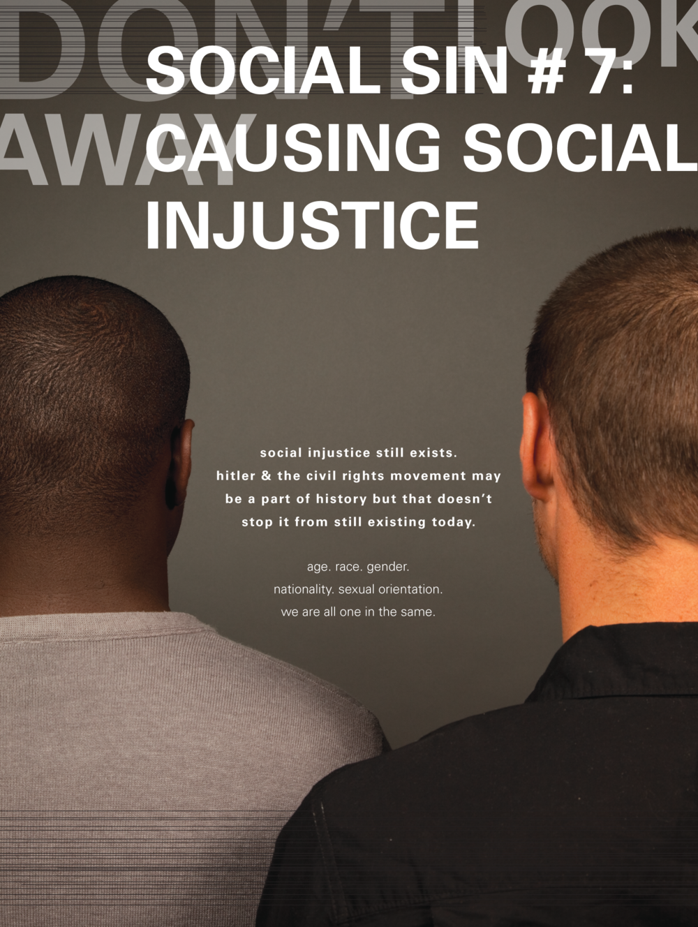 Social Sin #7 Causing Social Injustice