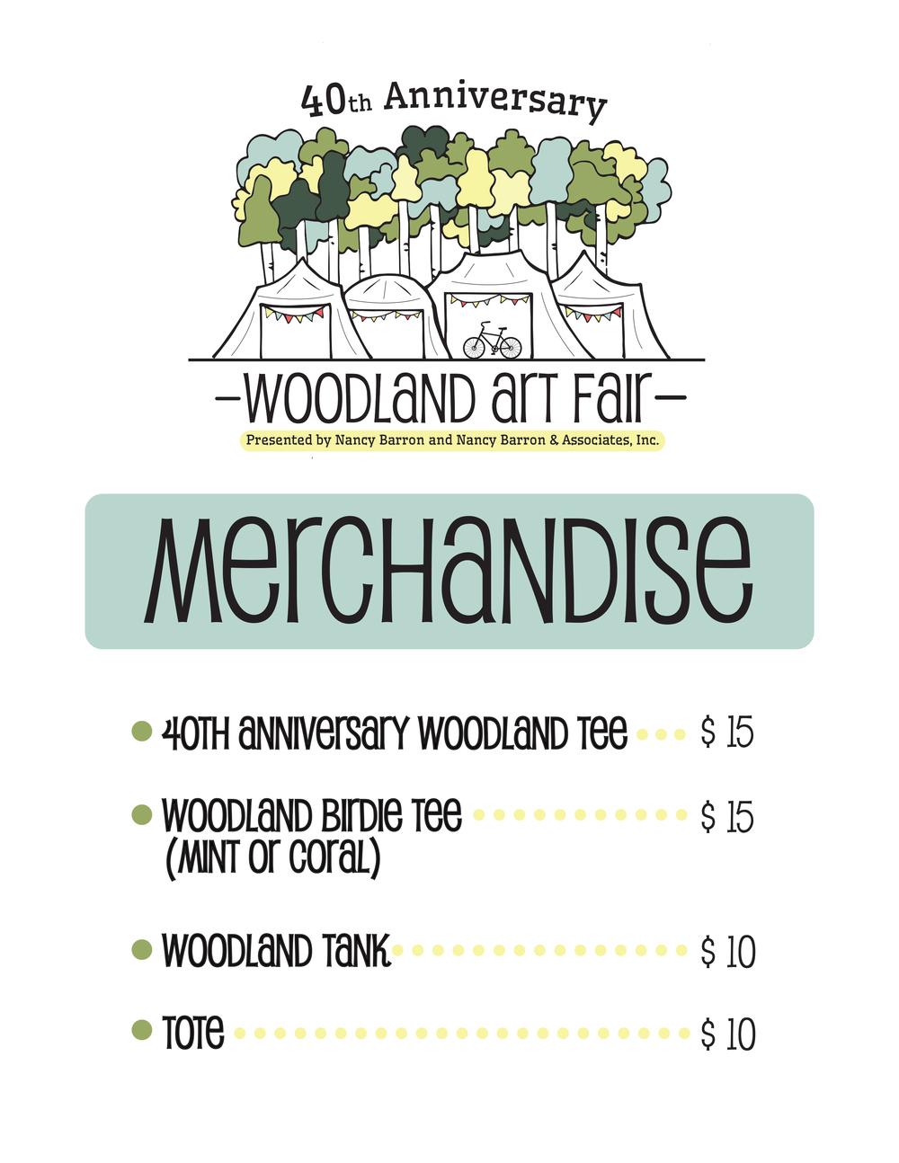 Woodland Merchandise