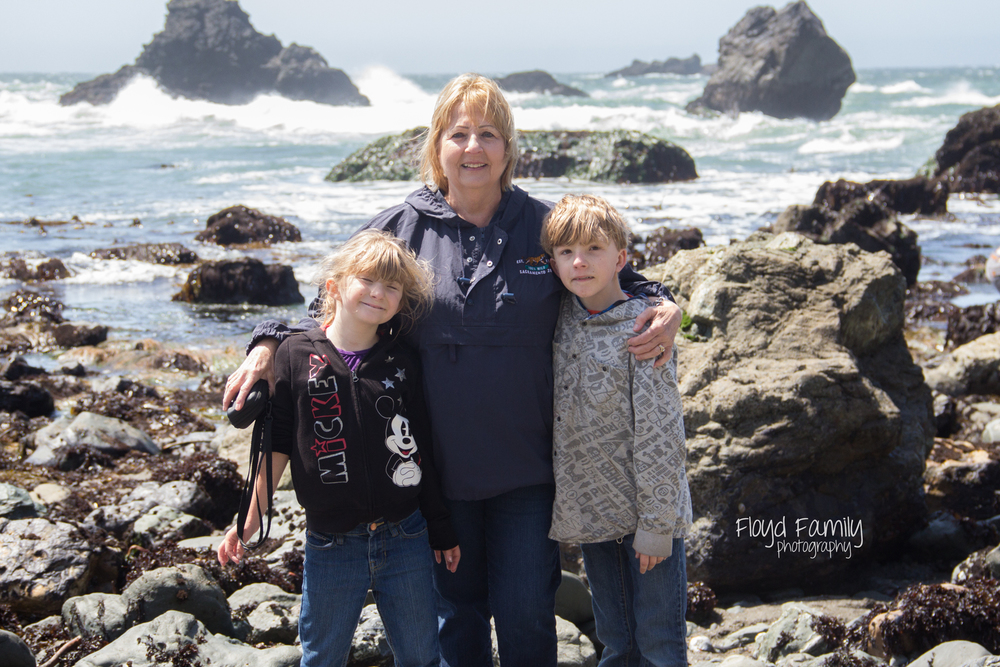 Tidal pools with the kids- beach fun | Placerville-Children-Photographer