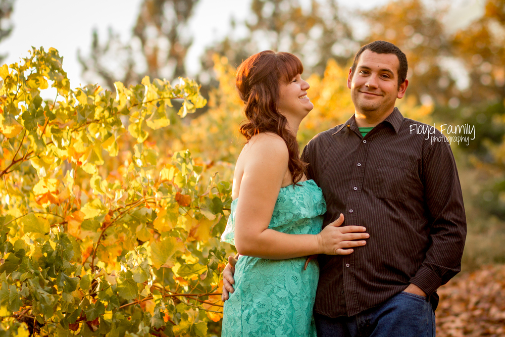 engaged couple in a winery | Placerville-Children-Photographer