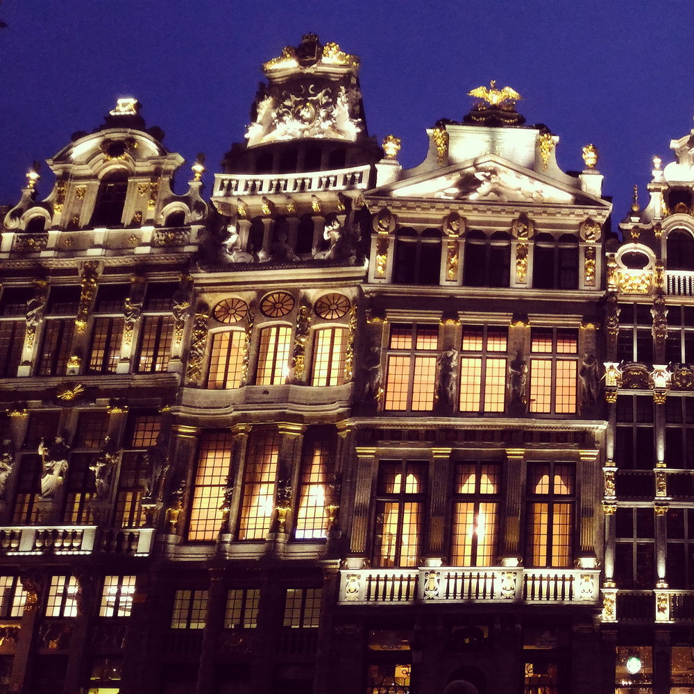 Grand Place at night.jpg