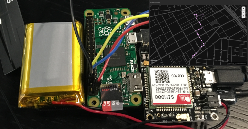 Using the Fona to create a cellular and GPS enabled Pi Zero.