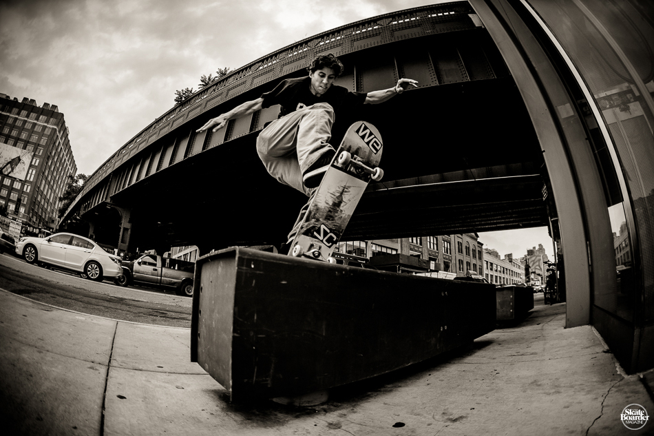Another signed skater on The Frontside Agency: Jordan Trahan - Photo by  Aaron Smith