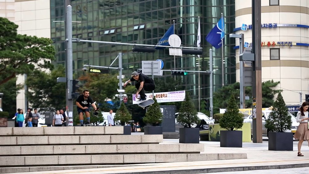 Jay Kadence Choi - Hardflip in South Korea