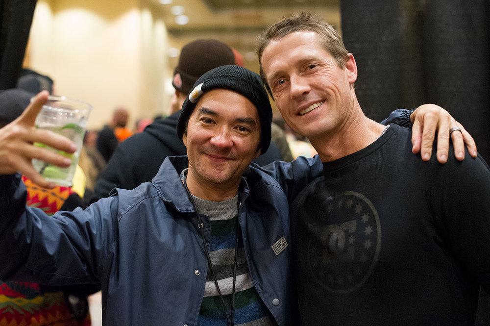 Rob Meronek and Danny Way at Zumiez 100k ( Original Photo )