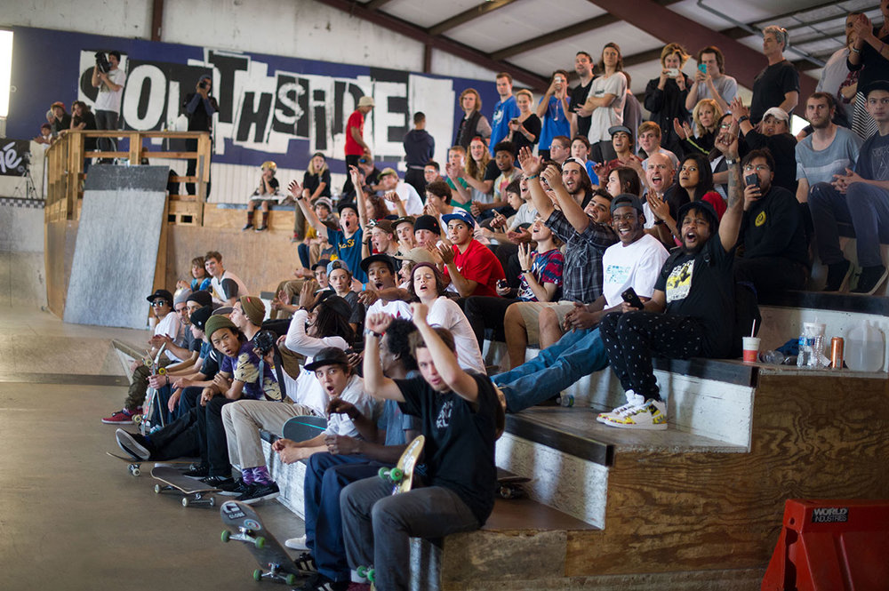 """""""Rowdy Crowd at The Boardr Am at Houston"""" ( Original Photo )"""
