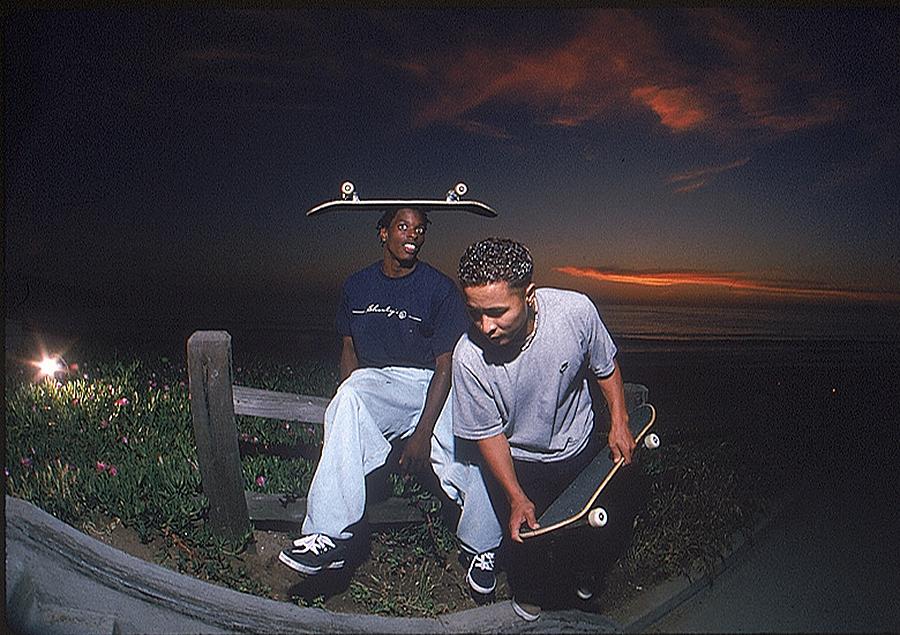 Kareem and Daewon - Photo courtesy of  Jenkem Mag