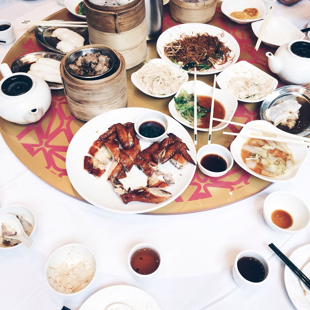 Dim Sum is probably the dish at had most times. It is a Cantonese cuisine prepared as small bite-sized portions traditionally served in small steamer baskets. Photo credit: Elene Vernijns