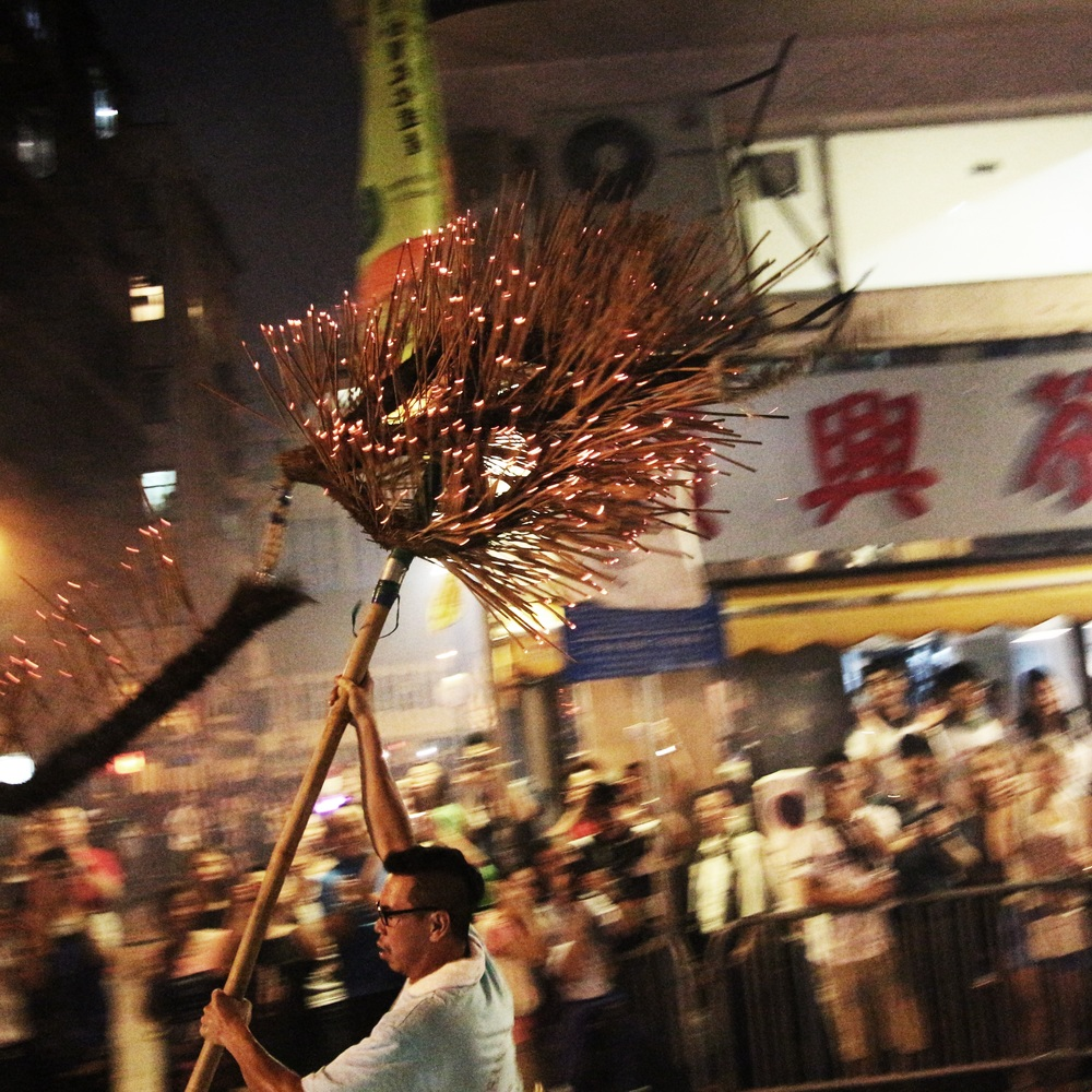 The Fire Dragon Dance in Causeway Bay. This is the tale of the Dragon