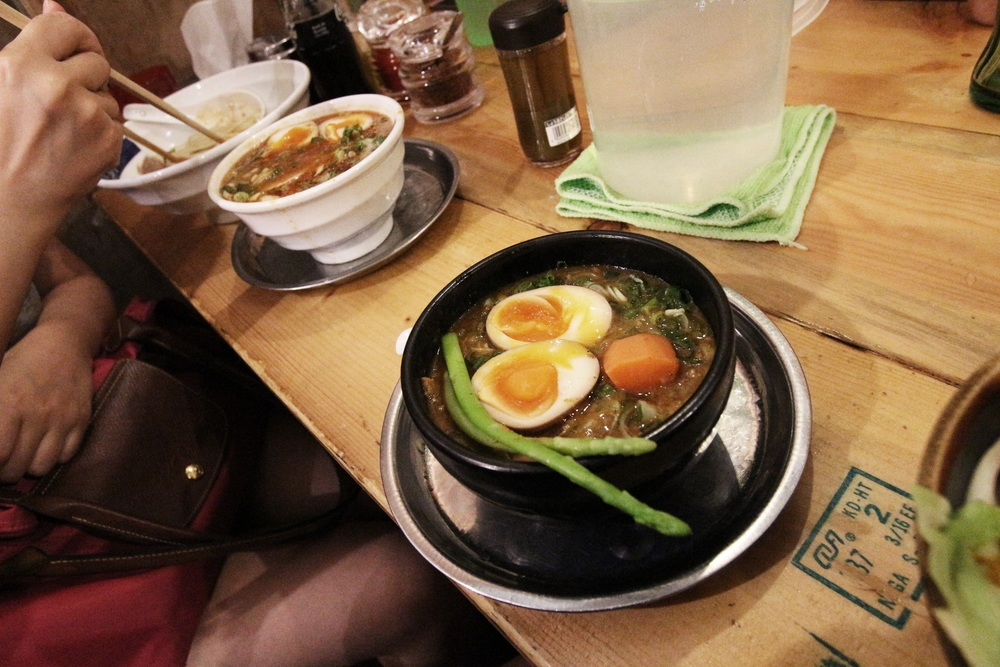 Japanese food is popular in Hong Kong. My Hong Kongese friend, Molly, took me to an amazing Ramen restaurant, where I had the best Japanese meal so far.