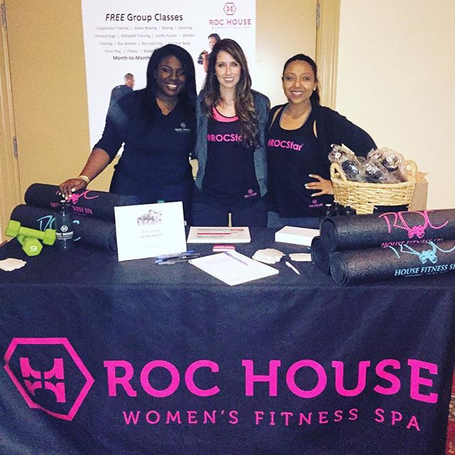 Come see us at Q100 Girls Night Out at Buckhead Theatre! #Q100GNO #weloveatl #rochouse #committobefit #womenshealth #womensbeauty @q100atlanta