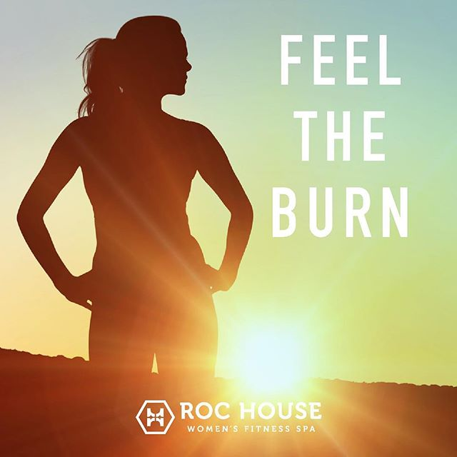 Stay Motivated ROC Stars! #womenshealth #womensfitness #buckheadatlanta #weloveatl #feeltheburn #gym #rochousefitness #rochouse