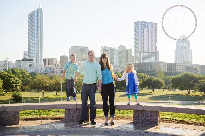 Family Photo Shoot in Butler Park • Austin, TX