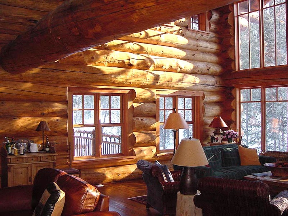 Pine Plains Cabin, Living Room