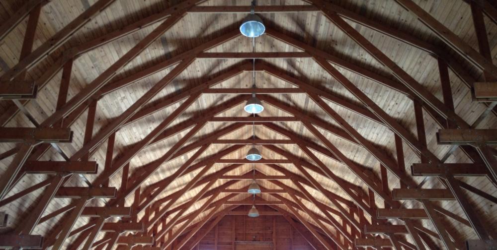 American Barn Trusswork, Columbia County, NY