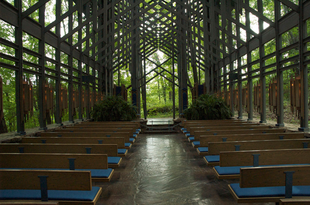 Thorncrown Chapel ,   Fay Jones