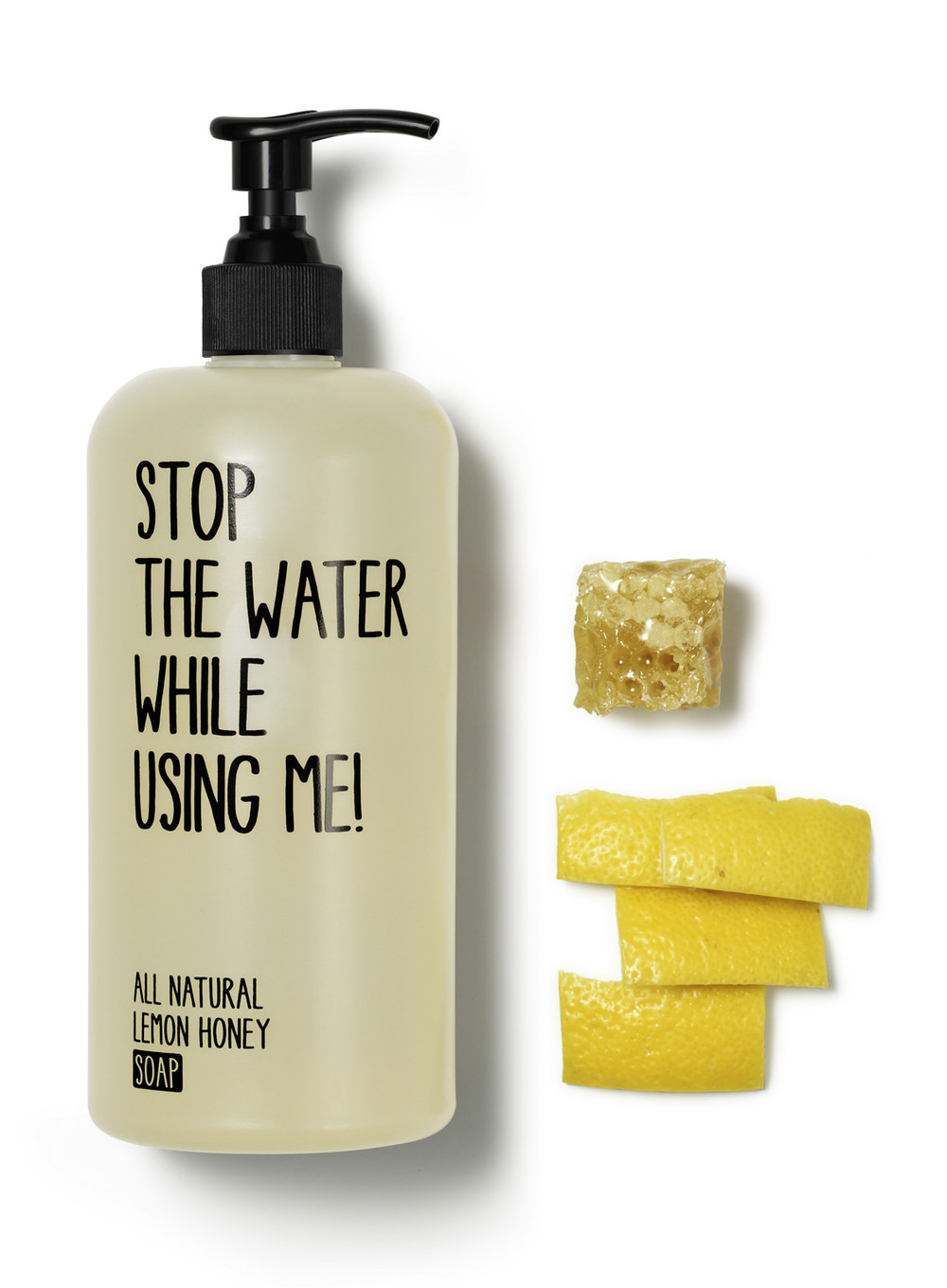 9 // Zeep met limoen en honing, Stop The Water While Using Me via Wander & Co, €9,90