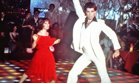 Karen Lynn Gorney en John Travolta in Saturday Night Fever