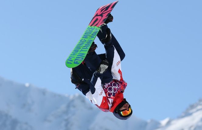 Billy Morgan Mens Slopestyle Finals Sochi 2014