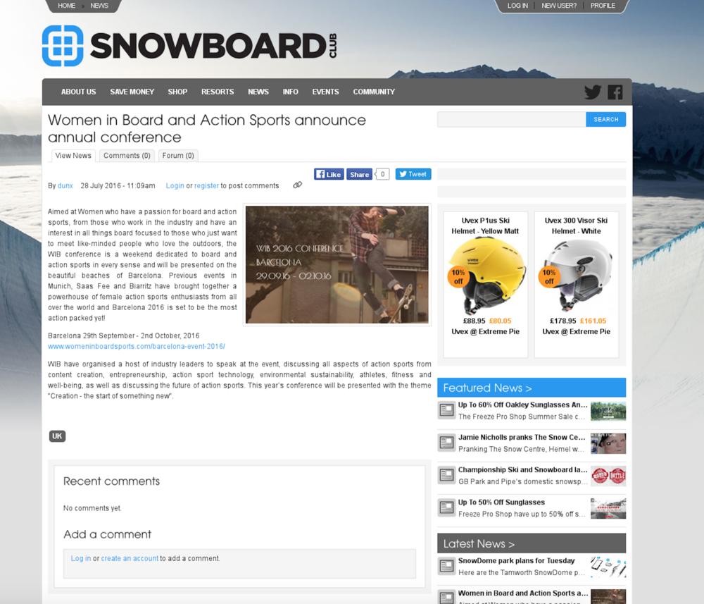 Snowboard Club UK