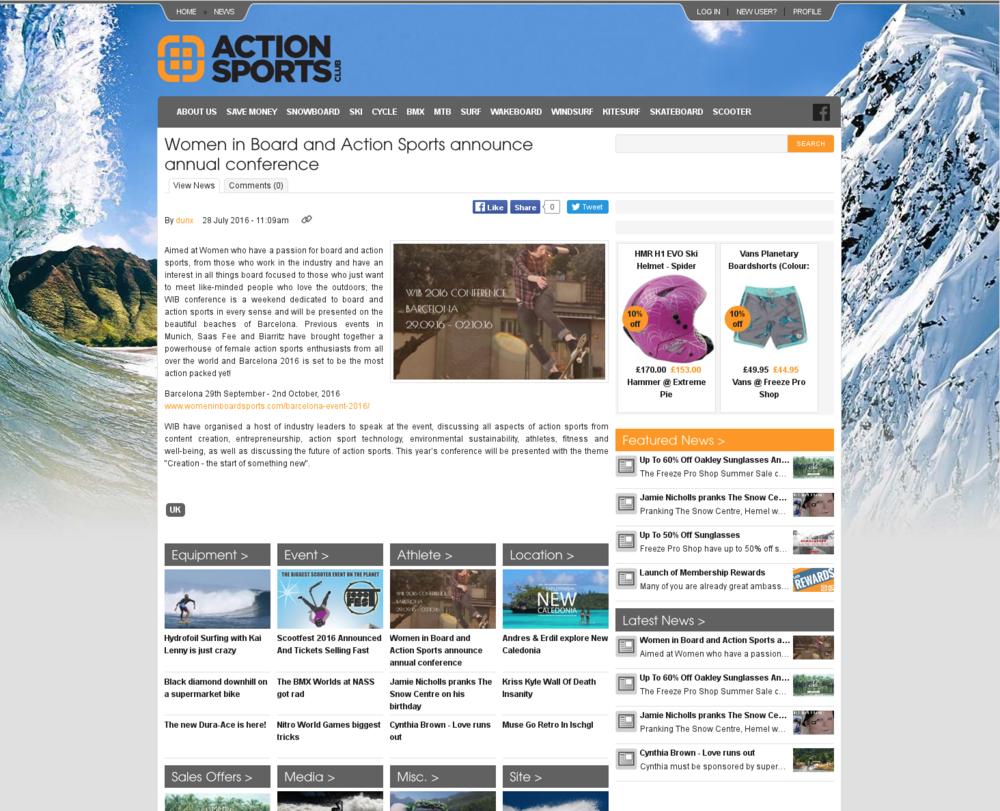 Action sports UK