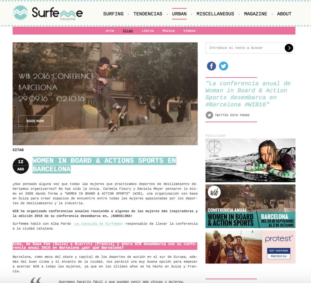 Surf Emme- Spain