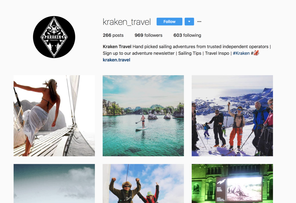 @Kraken_travel on Instagram
