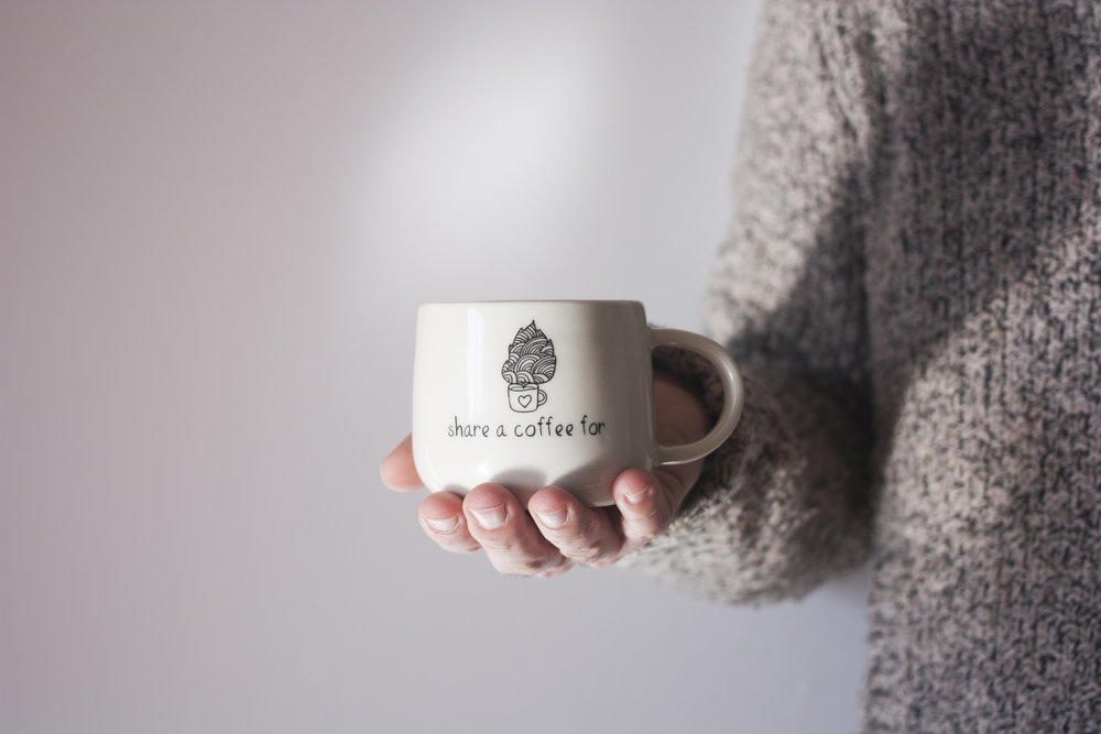 Mugs   Client:Share a coffee for   See more →