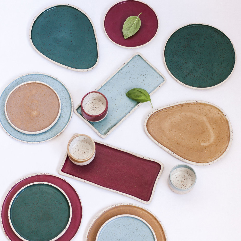 NATURE COLLECTION - Ceramic tableware handmade