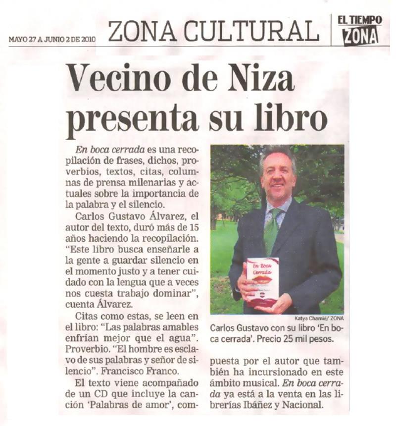 El Tiempo Zona Norte, Edición de Mayo 27 a Junio 2 de 2010
