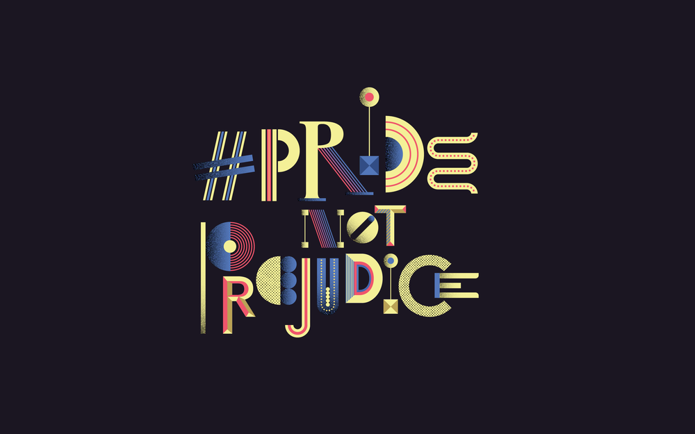 Pride, Not Prejudice: In-House Poster Series