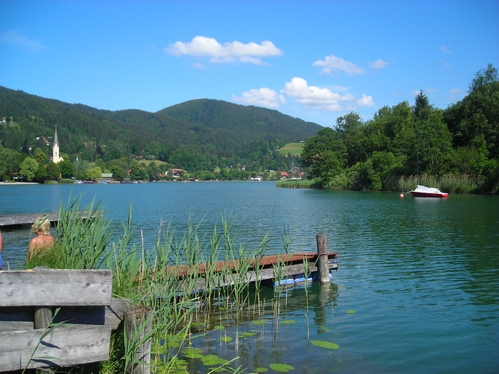Schliersee... where we swam!