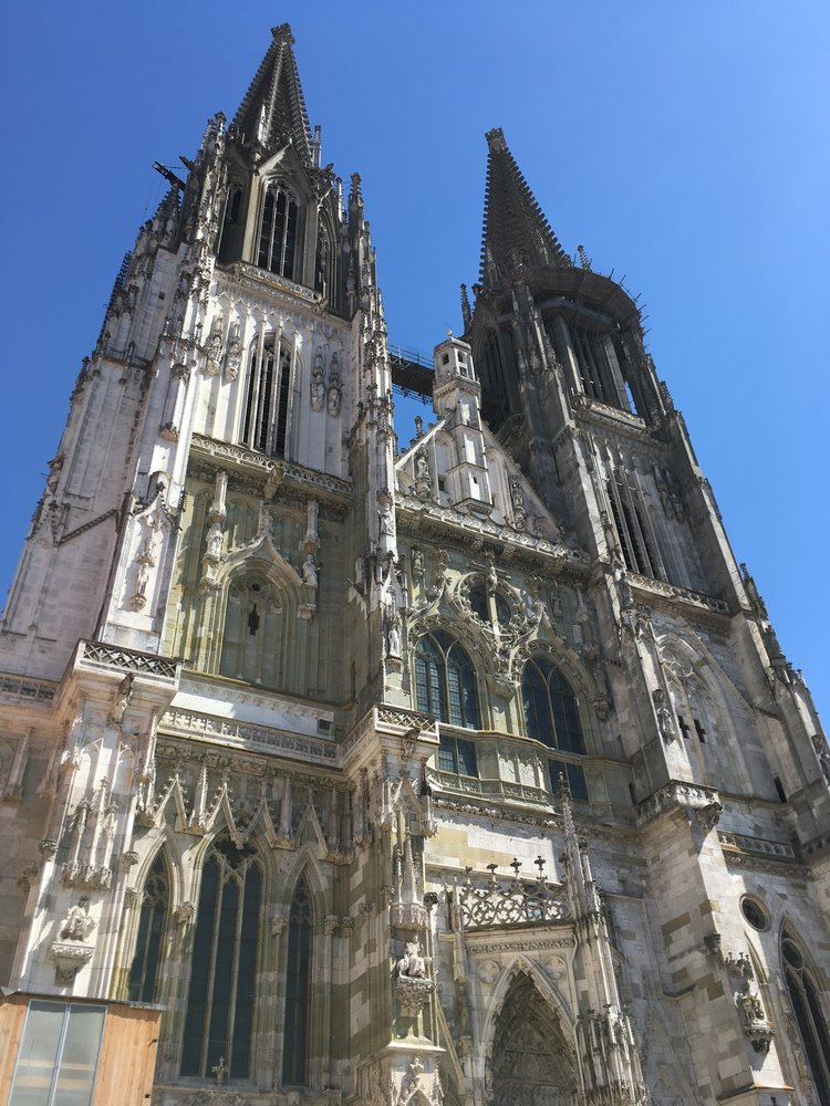 The magnificent gothic St Peter's Cathedral