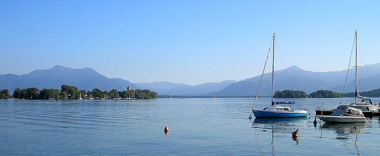 The blissful Chiemsee
