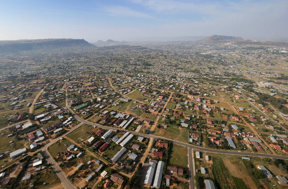 Maseru, the capital and largest city in Lesotho