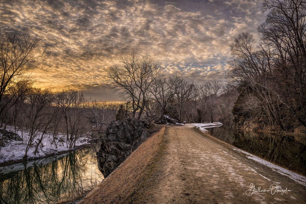 C&O Canal trail - Potomac MD