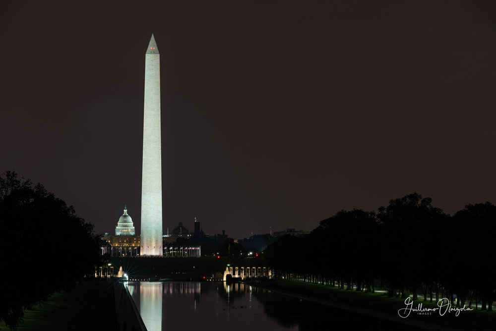Washington Monument & US Capitol